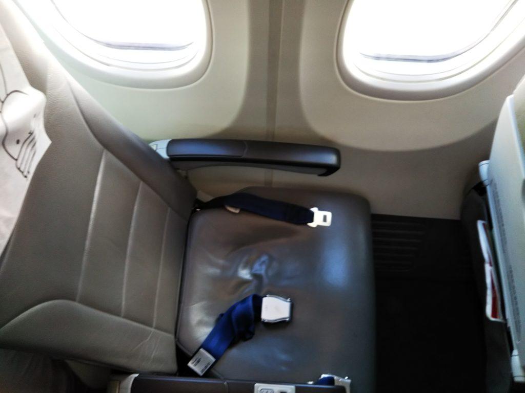 ティーウェイ航空座席