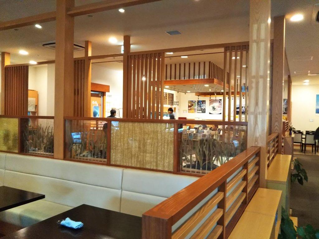 讃州製麺店内