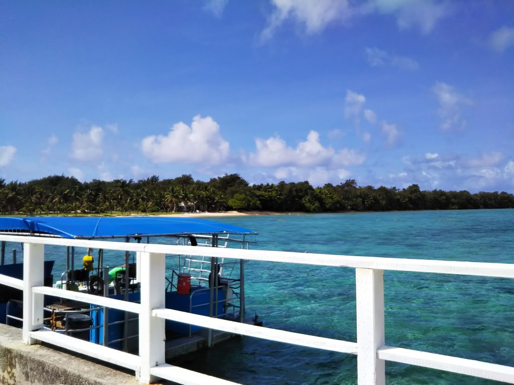 ココス島上陸