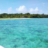 ココス島のプライべートビーチ