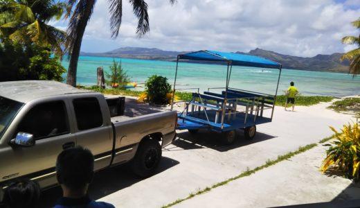 グアム ココス島のミニジャングルツアー