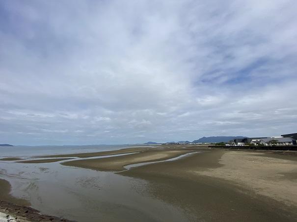 一の宮海岸マテ貝潮干狩り