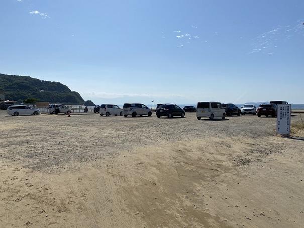 父母ヶ浜駐車場