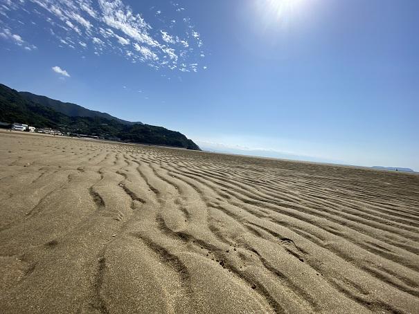 父母ヶ浜の潮干狩りポイント