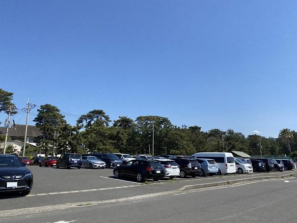一の宮海岸駐車場
