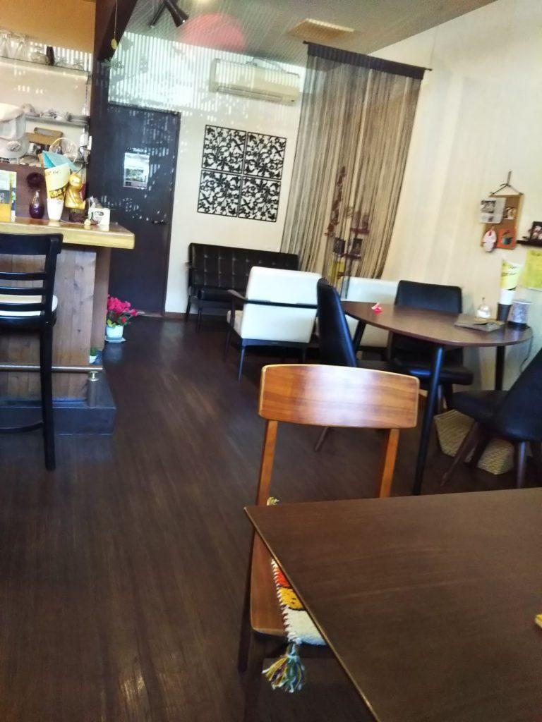 すまいるカフェ店内