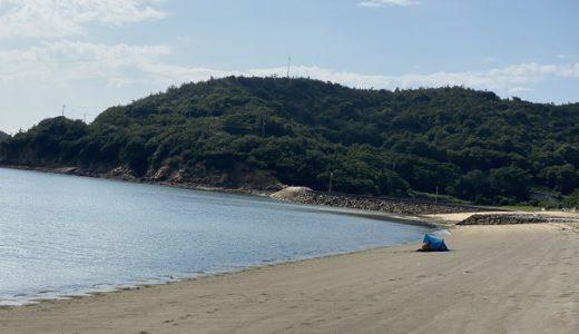 名部戸海水浴場と海の家はなやと海ほたる 三豊市
