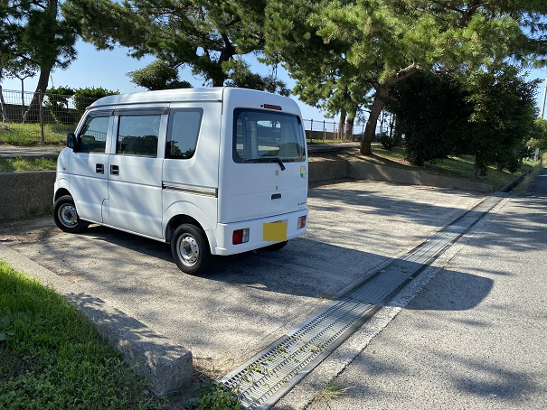 仁尾海岸駐車場