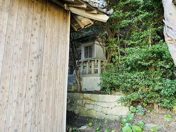 浦島神社と賀茂神社丸山島