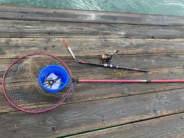 フィッシュフック釣り竿レンタルセット
