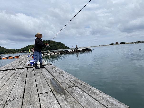 フィッシュフックで釣り