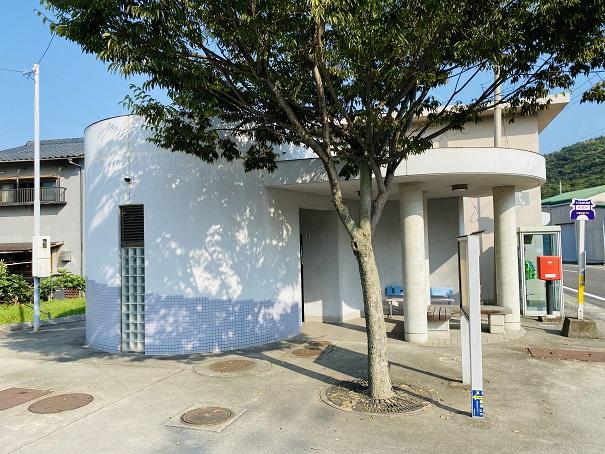 名部戸海水浴場トイレ