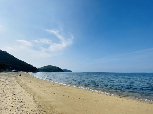 名部戸海水浴場風景