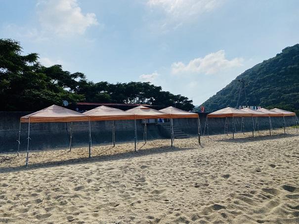 海の店はなやテント