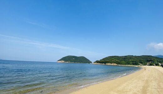 名部戸海水浴場の海遊び 海の店はなやと海ほたる 三豊市