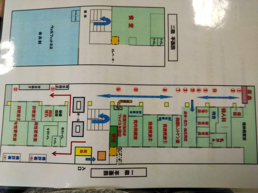 香川成人医学研究所案内図