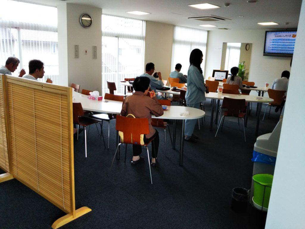 香川成人医学研究所食堂