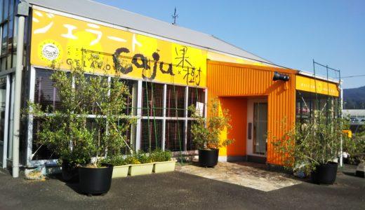さぬき市の手作りジェラートのお店 ジェラートCaju×果樹