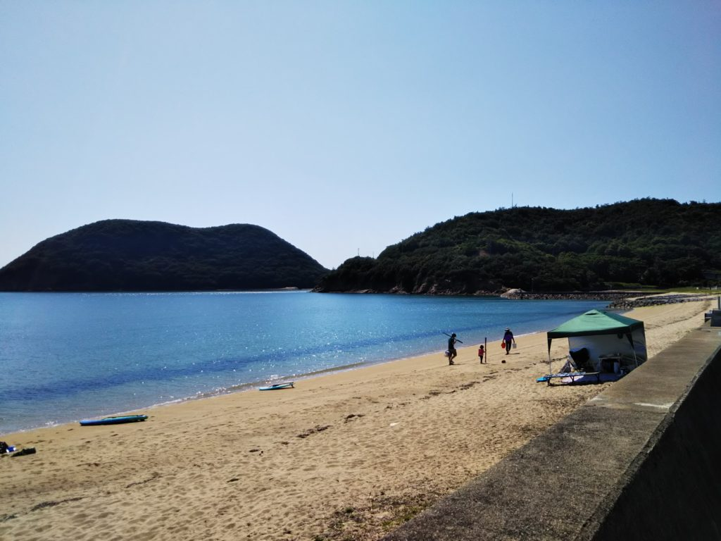 香川県三豊市名部戸海水浴場
