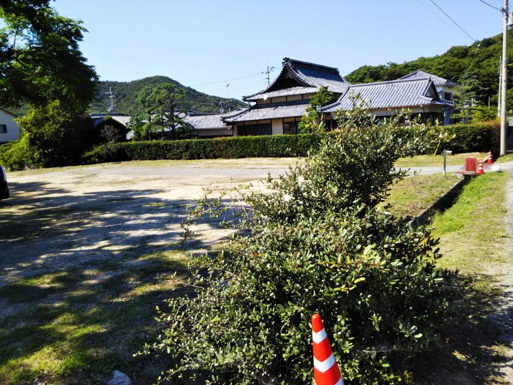 名部戸海水浴場第二駐車場