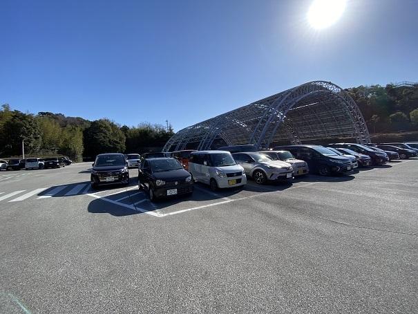 高知県立のいち動物公園駐車場