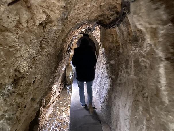 龍河洞入口から入る