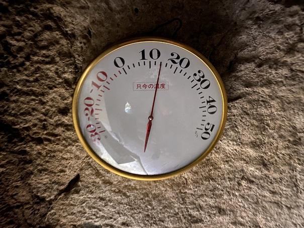 温度計龍河洞