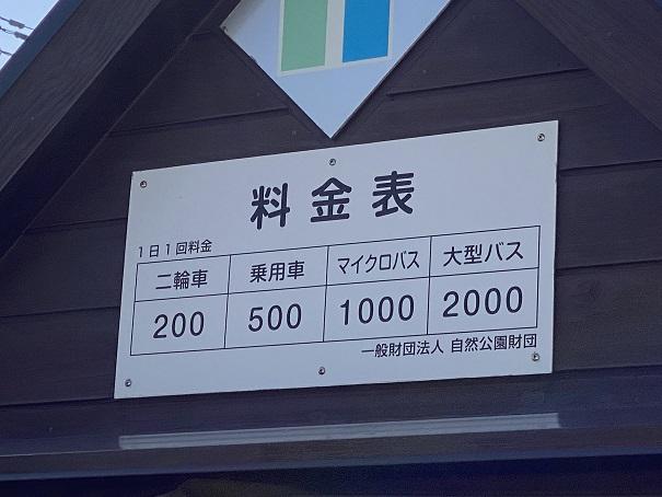 鳴門公園駐車場料金表