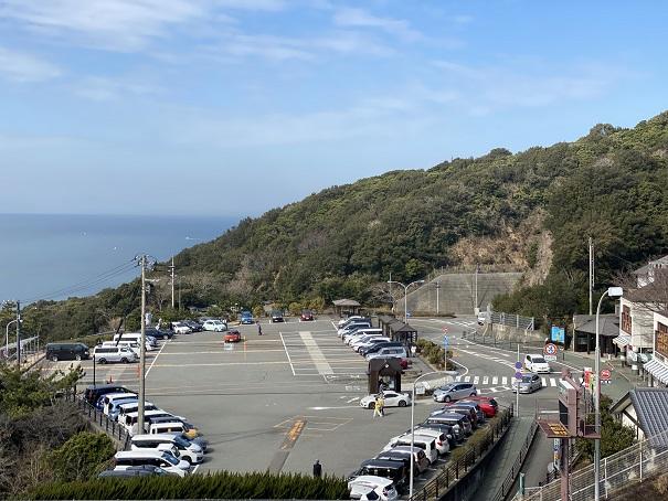 鳴門公園の駐車場
