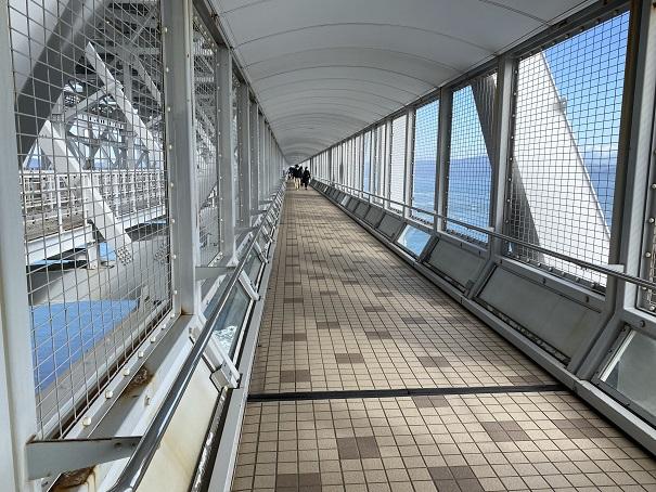 渦の道 大鳴門橋遊歩道を歩く