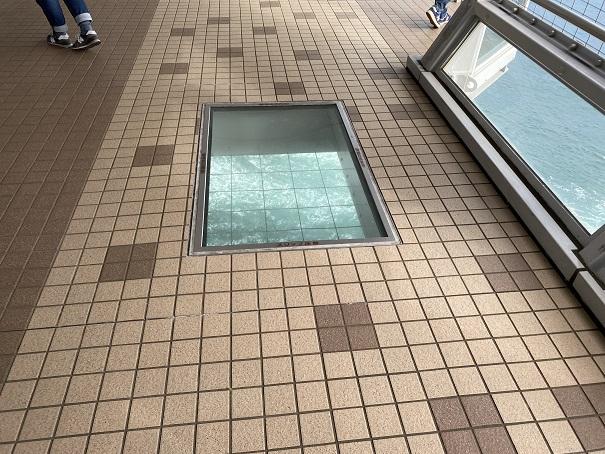 渦の道 大鳴門橋遊歩道透明ガラス