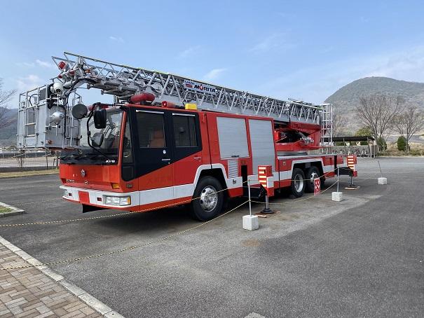 消防車の展示
