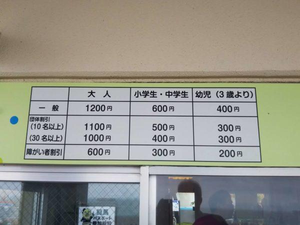 桂浜水族館入館料