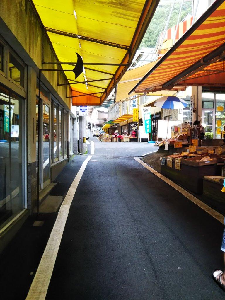 龍河洞商店街