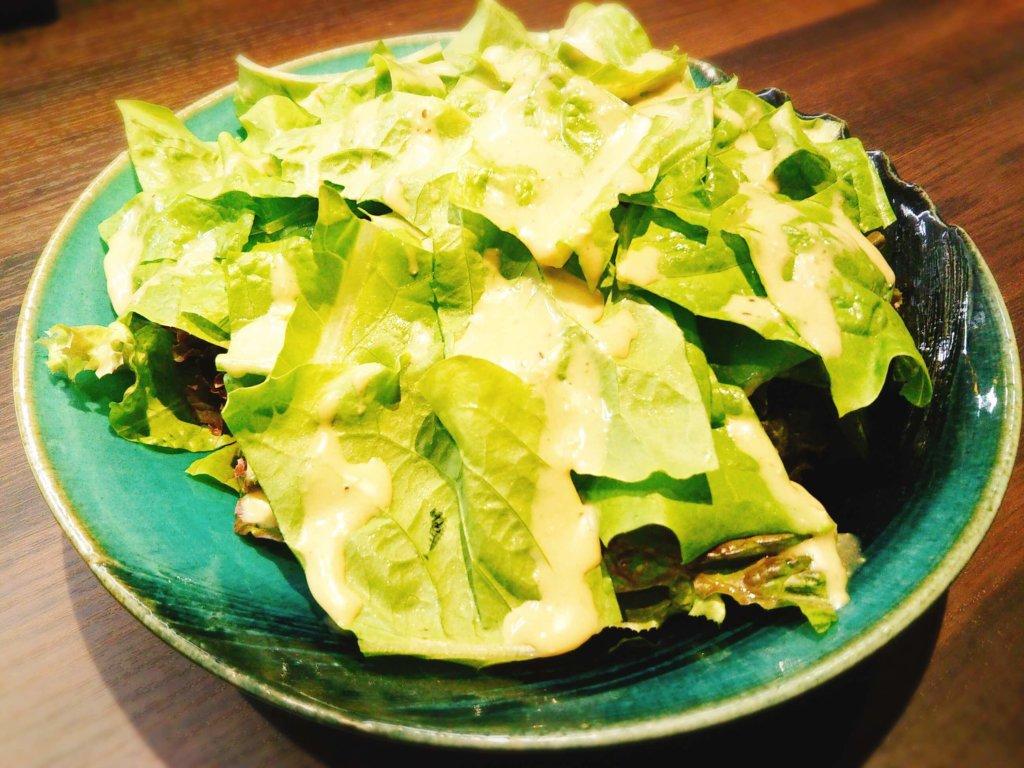 チシャ菜サラダ