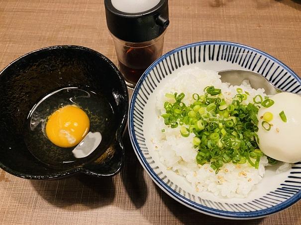 2種の卵のたまごかけご飯