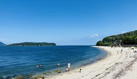 鎌野海水浴場は透明度が高く岸壁から飛び込める 高松市