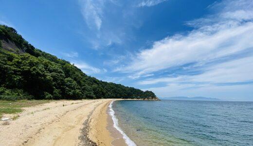 小浦海水浴場は独り占めできる超穴場ビーチ 東かがわ市
