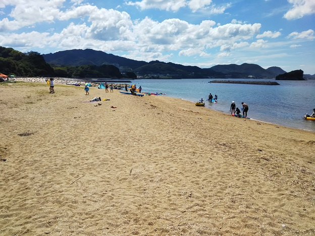 山田海岸ビーチ