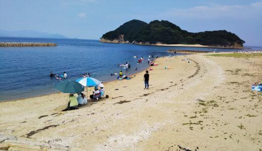 山田海岸は島に冒険に行けちゃう海水浴場 東かがわ市