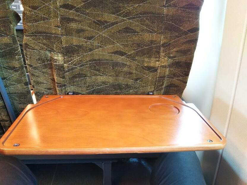 新幹線みずほとさくらテーブル