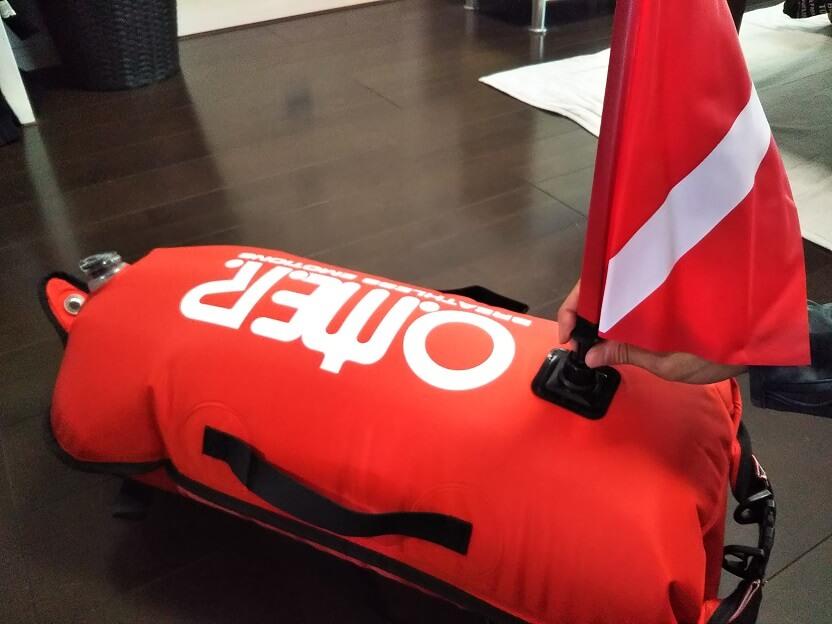 Omer オマー ドライバッグ 機能付き 超高性能 フロート ブイ
