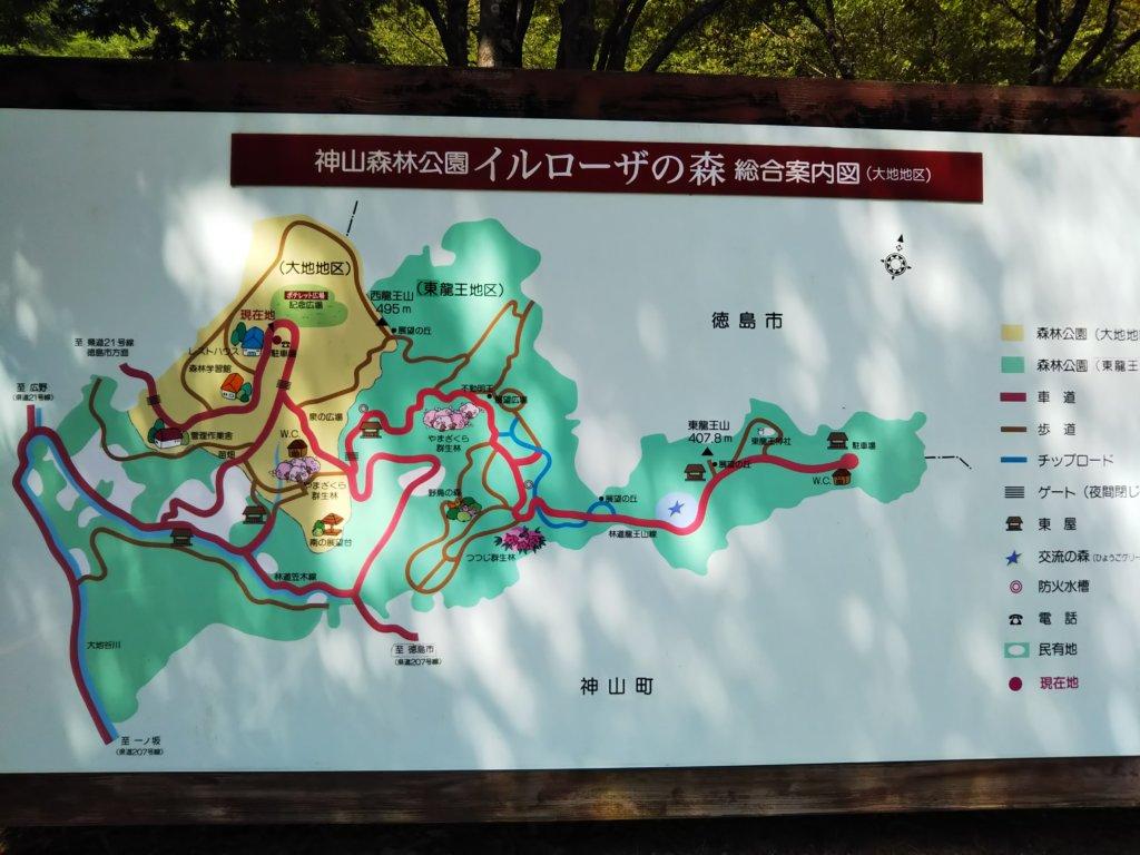 イルローザの森全体図