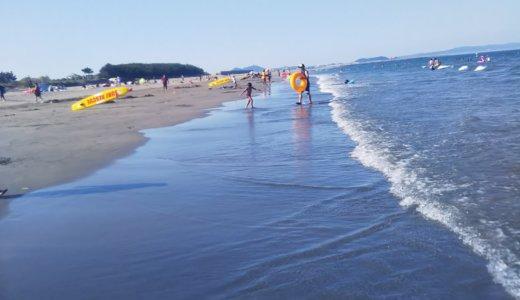 徳島市内唯一の海水浴場 小松海岸 小松海水浴場 ボディボード禁止