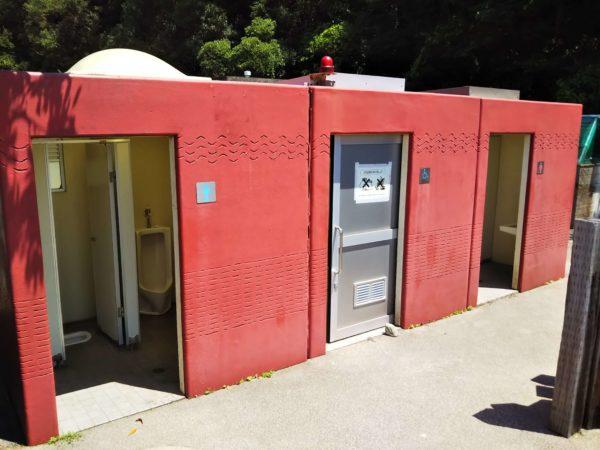 山田海岸トイレ