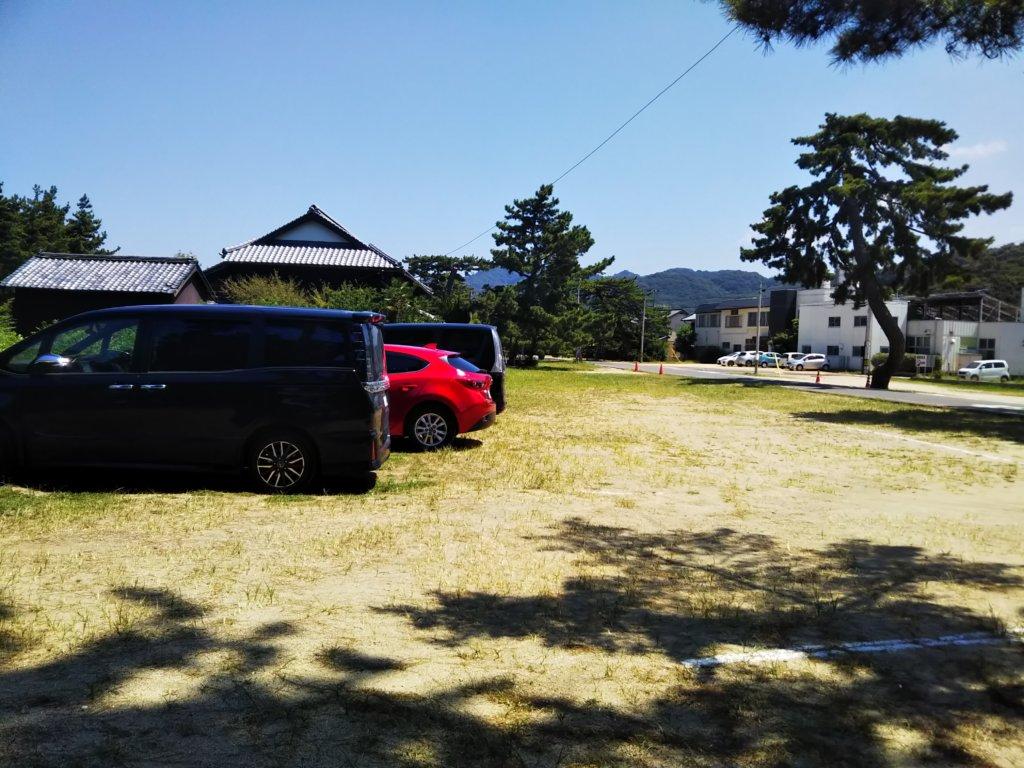 津田の松原駐車場