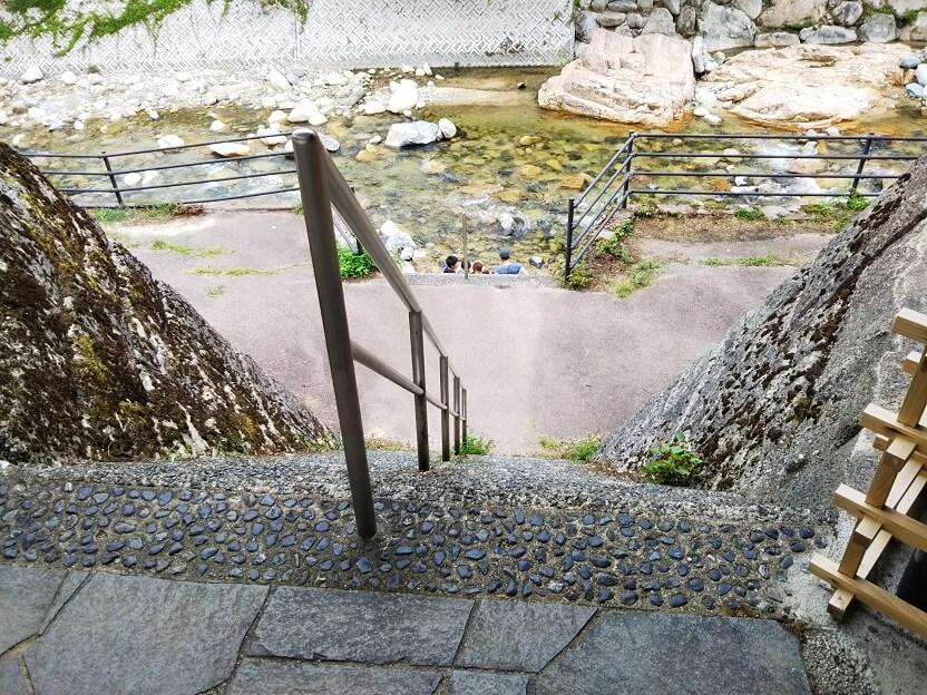 吉野川階段