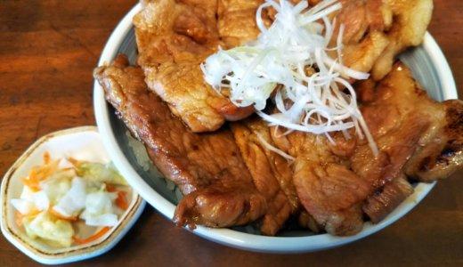 坂出市の豚丼できる!北海道の特製のタレと合い美味しい
