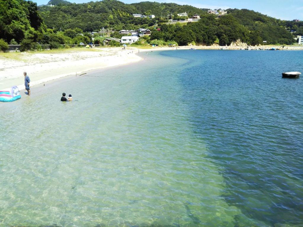高尻海水浴場ビーチ