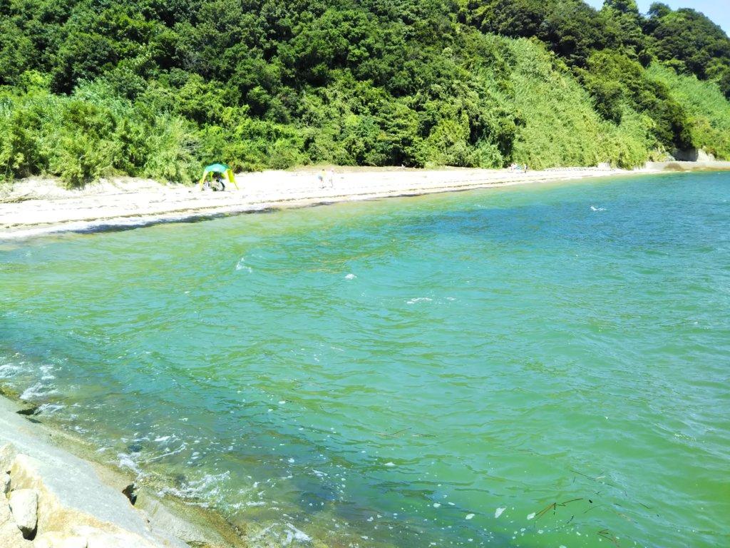 篠尾海水浴場ビーチ